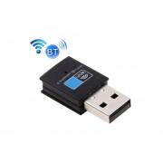2 En 1 Bluetooth 4.0 + 150mbps 2,4 Ghz Usb Wifi Adaptador Inalambrico