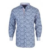 Spazio Abulward Long Sleeved Shirt Blue 46-3816