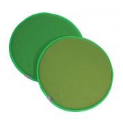 Vitra - Seat Dots Sitzauflage, classic green forest / classic green cognac