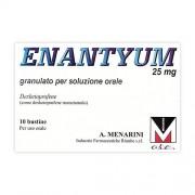 A.Menarini Ind.Farm.Riun.Srl Enantyum 25 Mg Granulato Per Soluzione Orale 10 Bustine Al/Pe Monodose