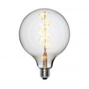 NUD Collection - LED-Spiral Leuchtmittel Ø 125 mm, E27 / 1,5 W, klar