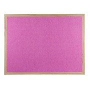 Polycolour Wooden Framed Noticeboard 1800x1200mm