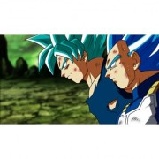 goku and vegeta in blue sticker poster|dragon ball z poster|anime poster|size:12x18 inch|multicolor