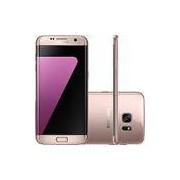 Smartphone Samsung Galaxy S7 Edge Android 6.0 Tela 5.5 32GB Wi-Fi 4G Câmera 12MP - Rosé