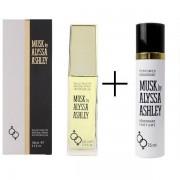 Alyssa Ashley Musk Eau de Toilette 100 ml spray OMAGGIO Deodorant 75 ml spray