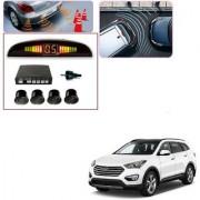 Auto Addict Car Black Reverse Parking Sensor With LED Display For Hyundai SantaFe