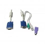 LevelOne KVM VGA+PS2+USB 1,8m