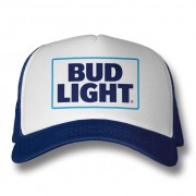 Bud Light Logo Trucker Cap