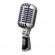 Microfono Shure Super 55 Dinamico Supercardioide-Plateado