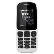 Telefon mobil Nokia 105 (2017), Dual Sim (Alb)
