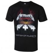 tričko pánské Metallica - Master Of Puppets - Tour Europe 86' - Black - RTMTLTSBTOU