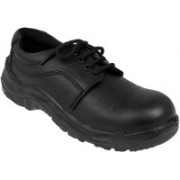Marshal Leather Safety With Steel Toe Cap Casuals For Men(Black)