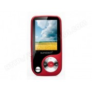 SUNSTECH MP4 Sunstech Thorn 4 GB Rouge