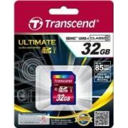 Card de Memorie Transcend SDHC 32GB Clasa 10 UHS-I