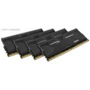 Kingston HX426C13PBK4/32 Hyper-x Predator 32GB(8Gb x 4) DDR4-2666 CL13 1.2v Desktop Memory Module