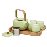 Viridi - porcelánová čajová souprava