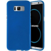 Protectie spate Senno Pure Flex Slim Mate TPU pentru Samsung Galaxy S8 Plus (Albastru)