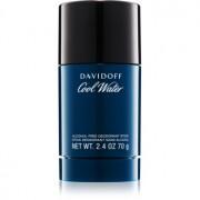 Davidoff Cool Water desodorante en barra sin alcohol para hombre 70 g