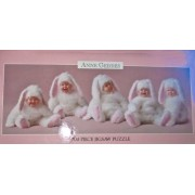 Anne Geddes 700 Piece Jigsaw Puzzle Babies As Bunnies