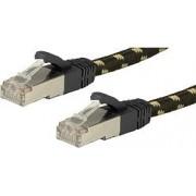 Roline GOLD S/FTP mrežni kabel Cat.6a, PiMF, 1.0m