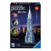 Ravensburger - Puzzle 3D 216 db - Chrysler épület világító