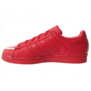 Adidas SUPERSTAR GLOSSY TOE W S76724 red