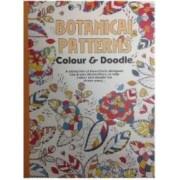 Carte de colorat pentru adulti Botanical patterns