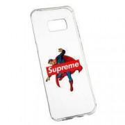 Husa de protectie Supreme Superman Samsung Galaxy S8 Plus rez. la uzura Silicon 259