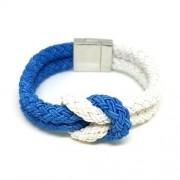 Bleu - Mágneses bizsu karkötő