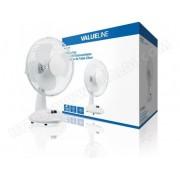 VALUELINE Ventilateur de table 23 cm 21 W Plastic Blanc