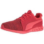 PUMA Men s Carson Runner Knit Eea Fashion Sneaker High Risk Red 9.5 D(M) US