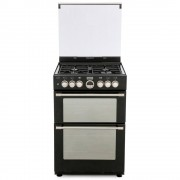Stoves Sterling 600DF Black Dual Fuel Cooker