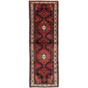 Handgeknüpft. Ursprung: Persia / Iran Hamadan Teppich 105x315 Perserteppich, Läufer