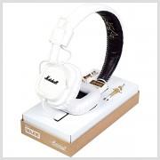 Sluchátka MARSHALL MAJOR, veľké biele