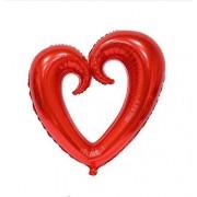 Balon folie Inima colorat
