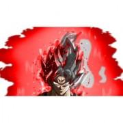 goku super saiyan god sticker poster|dragon ball z poster|anime poster|size:12x18 inch|multicolor