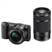 Sony Aparat Alpha a5100 (ILCE-5100) Czarny + Obiektyw 16-50mm + 55-210mm