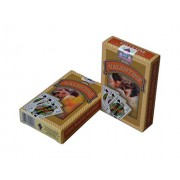 Plastic Playing Cards - Washable - Bridge Cards - Premium Playing Cards Plastic Set of 2 - Play Poker, Bridge, Rummy (Yellow)