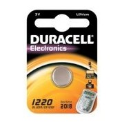 Duracell Knopfzelle Lithium CR1220