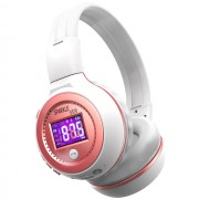 ZEALOT B570 HiFi Bluetooth Headphone with Mic Support FM Radio Micro-SD Card - Pink