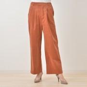 Posh Alma ストレッチコーデュロイワイドパンツ【QVC】40代・50代レディースファッション