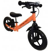 """Capetan® Neptun Narancs színű fékkel ellátott 12"""" kerekű futóbicikli sárhányóval és csengővel - pedá"""