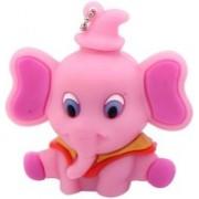Microware Pink Elephant Shape 16 GB Pendrive 16 GB Pen Drive(Pink)