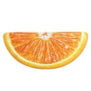 Saltea gonflabila pentru piscina/plaja - Felie de portocala - 178x85 cm