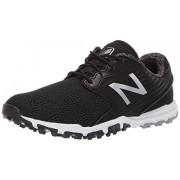 New Balance Women's Minimus SL Breathable Spikeless Comfort Golf Shoe, Black, 7 M