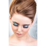 Baci Lingerie Eyelash Black-Blue Deluxe