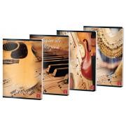 Caiet muzica Pigna A4, 24 file