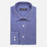 STEVULA Modro-biela pánska košeľa, Regular fit Veľkosť: S 37/38