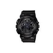 Relógio Masculino Casio G-Shock GA-100CF-1ADR 48mm Preto