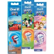 Oral B Stages Power Kids Borsthuvud 3st 3 ml